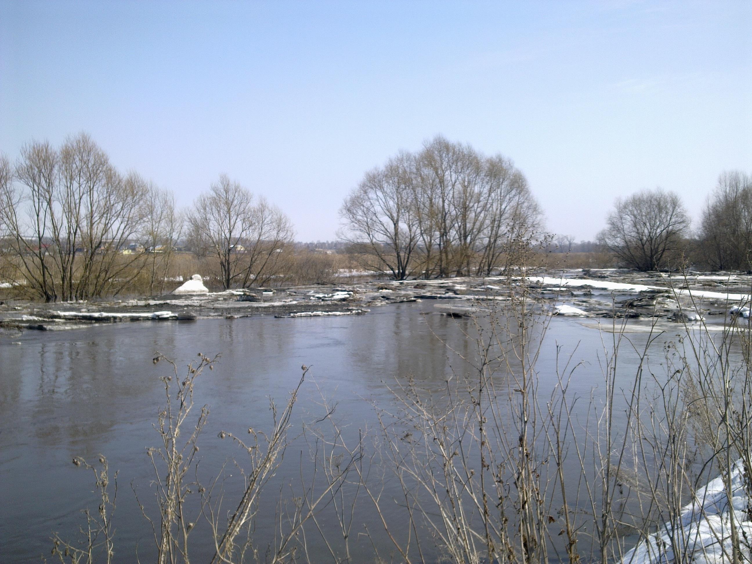 О развитии гидрометеорологической обстановки на территории Ульяновской области
