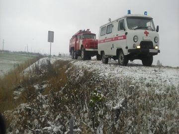 Пожарно-спасательные подразделения приняли участие в ликвидации ДТП в Радищевском районе
