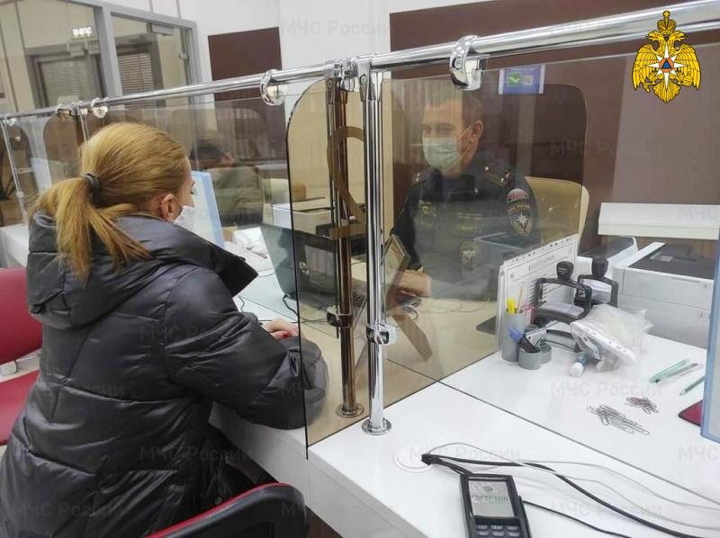 Сотрудники Главного управления МЧС России по Ульяновской области оказывают консультации по вопросам контрольно-надзорной деятельности